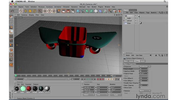 Getting started with cameras: CINEMA 4D R11.5 Essential Training