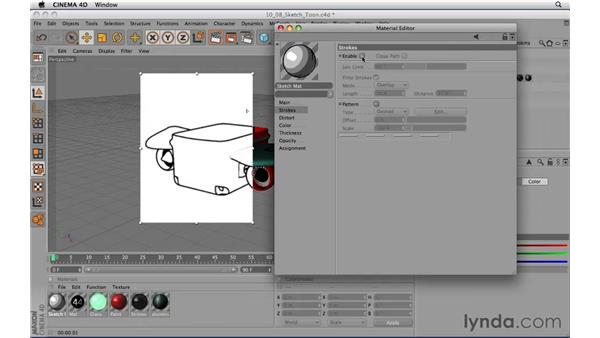 Rendering with Sketch and Toon: CINEMA 4D R11.5 Essential Training