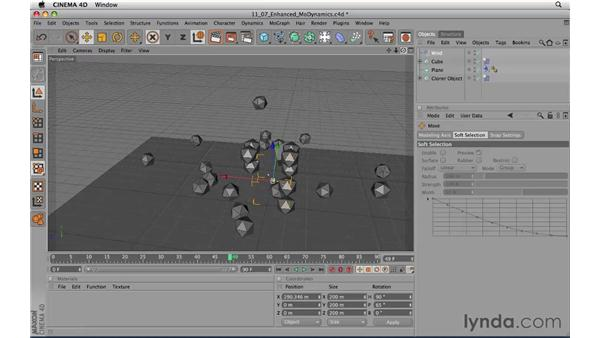 Enhanced MoDynamics: CINEMA 4D R11.5 Essential Training