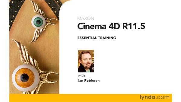Goodbye: CINEMA 4D R11.5 Essential Training