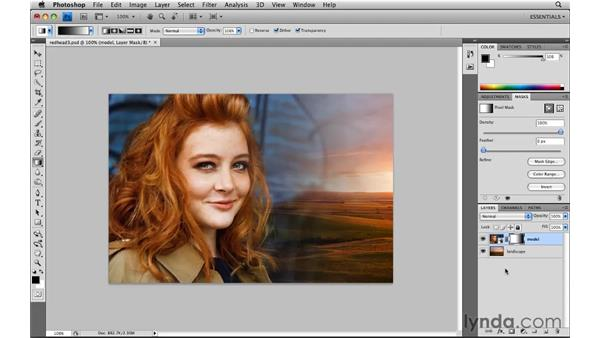 Blending photos with layer masks: Photoshop CS4: Image Compositing for Photographers