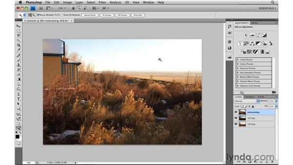 Loading files into layers: Photoshop CS4: Image Compositing for Photographers
