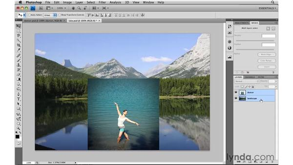 Auto-blending a collage: Photoshop CS4: Image Compositing for Photographers