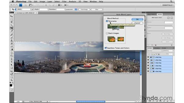 Creating panoramas: Photoshop CS4: Image Compositing for Photographers