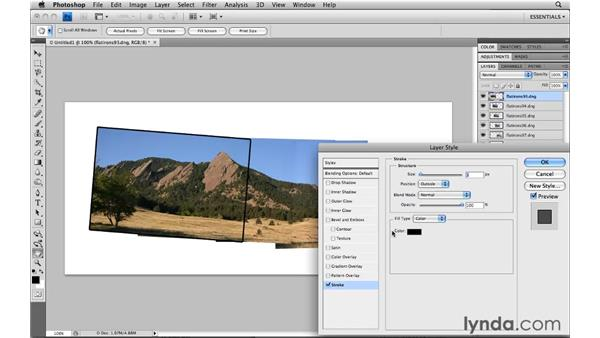 Making a photo montage: Photoshop CS4: Image Compositing for Photographers