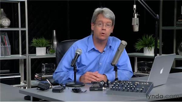 Choosing microphones: Screencasting with the Mac