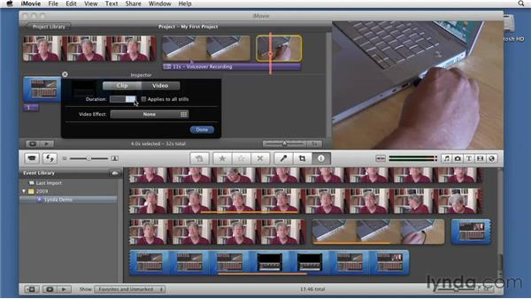 Using focused motion captures: Screencasting with the Mac
