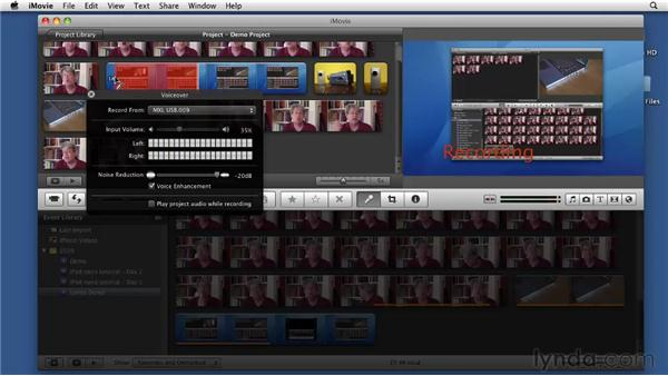 Recording narration: Screencasting with the Mac
