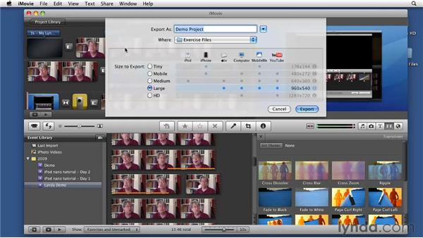 Exploring delivery options: Screencasting with the Mac