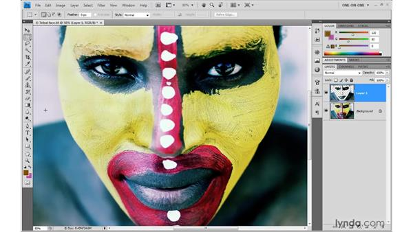 37. The fill functions: Photoshop Top 40
