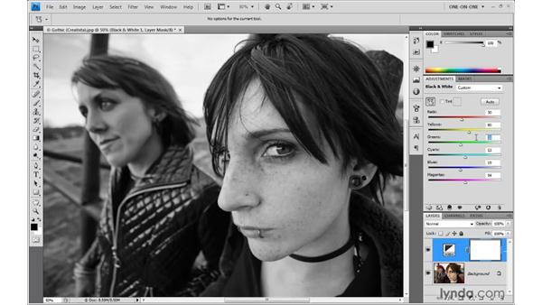 36. Black and white: Photoshop Top 40