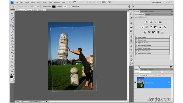 27. The Crop tool: Photoshop Top 40