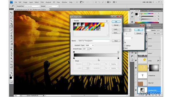 21. The Gradient tool: Photoshop Top 40