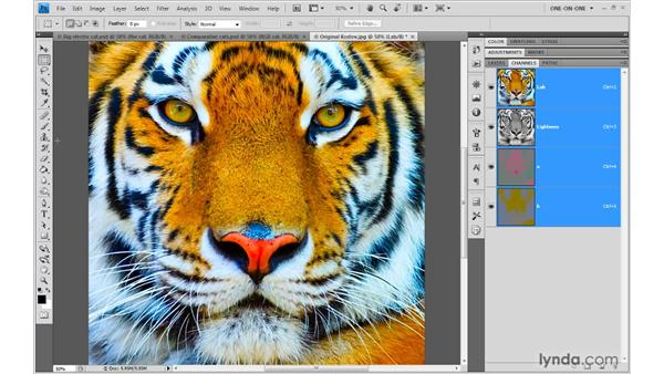 6. RGB, CMYK, Lab: Photoshop Top 40