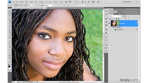 5. The Sharpen Filters: Photoshop Top 40