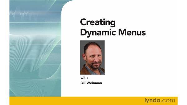 Goodbye: Creating Dynamic Menus