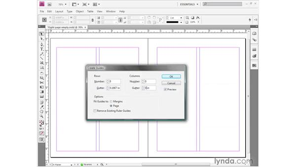 Understanding guides: InDesign CS4 Getting Started