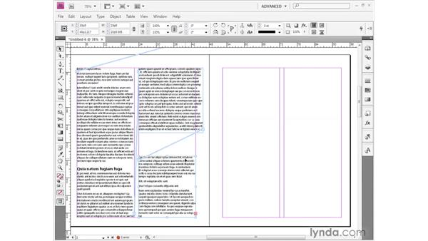 Placing and flowing text: InDesign CS4 Getting Started