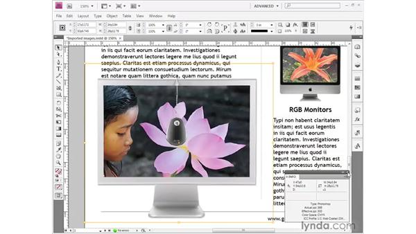 Cropping and scaling: InDesign CS4 Getting Started