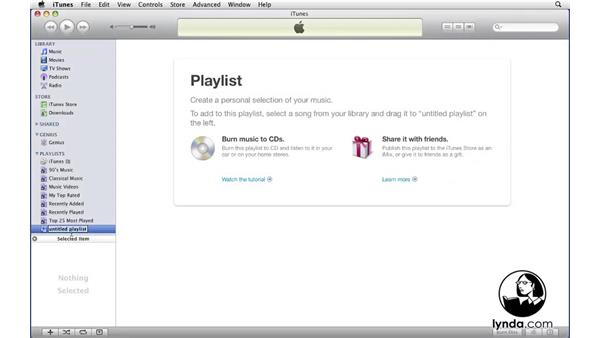 Welcome: iTunes 9 Essential Training