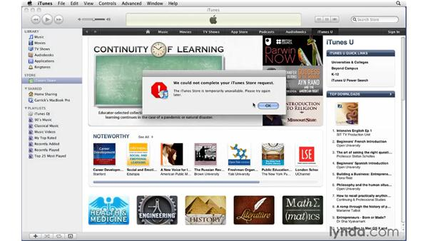Setting parental controls: iTunes 9 Essential Training