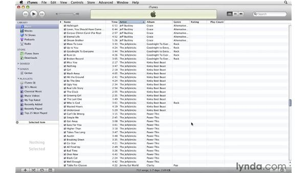 Converting single files: iTunes 9 Essential Training