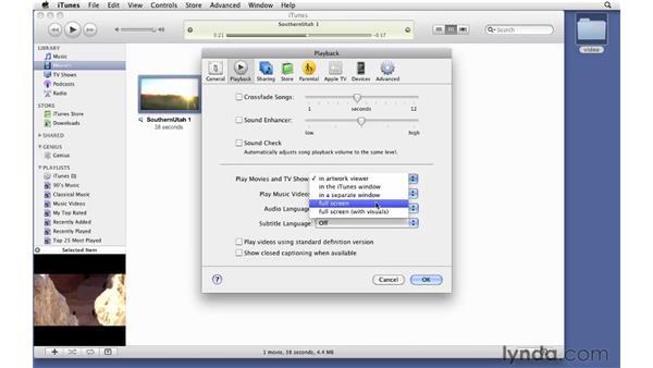Importing videos: iTunes 9 Essential Training