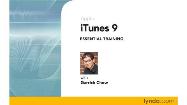Goodbye: iTunes 9 Essential Training