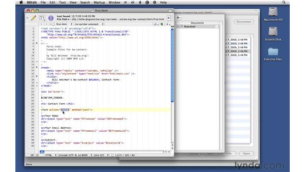 Using HTML templates: CGI Essential Training