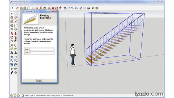 Dynamic components: SketchUp 7 New Features