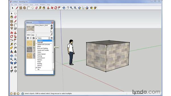 Texture editing: SketchUp 7 New Features