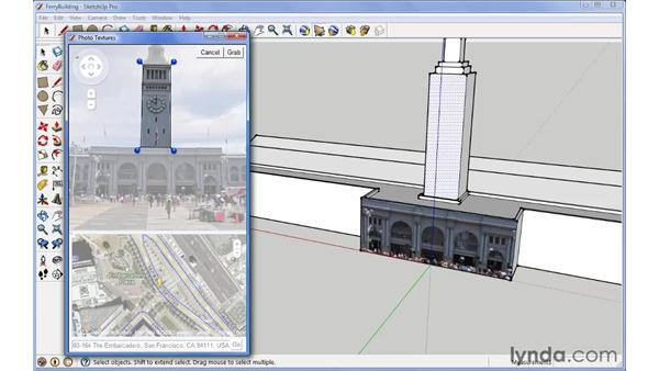 Photo texture: SketchUp 7 New Features