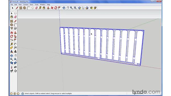 The Component Options window: SketchUp 7 New Features