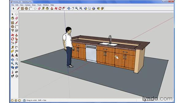 Using the Interact tool: SketchUp 7 New Features