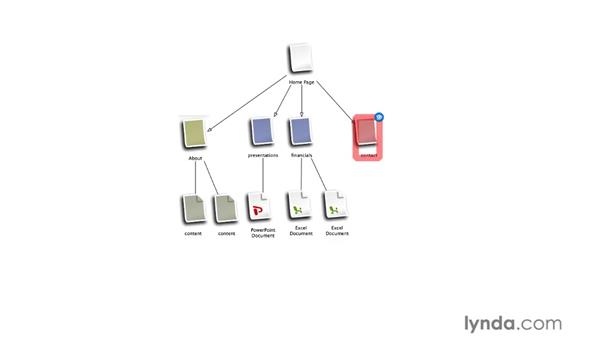 Presentation mode: OmniGraffle Professional 5 Essential Training