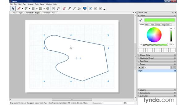 Drawing lines and arcs: SketchUp Pro: Tools and Techniques (2010)