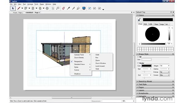 Inserting SketchUp models: SketchUp Pro: Tools and Techniques (2010)