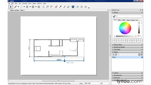 Working with dimensions: SketchUp Pro: Tools and Techniques (2010)