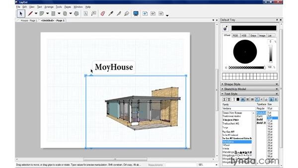 Arranging and grouping objects: SketchUp Pro: Tools and Techniques (2010)