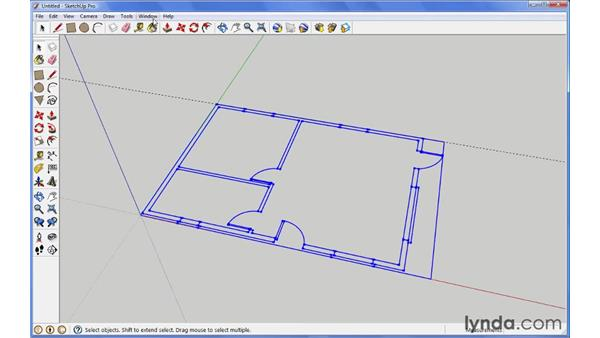 Importing objects from AutoCAD: SketchUp Pro: Tools and Techniques (2010)