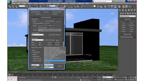 Exporting objects for rendering: SketchUp Pro: Tools and Techniques (2010)