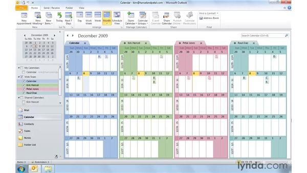 Scheduling more efficiently with new Calendar Groups and Tools: Outlook 2010: Real-World Projects