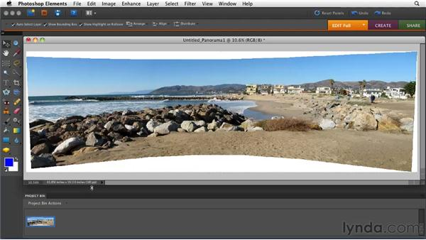 Stitching a panorama: Getting Pro Results from a Compact Camera