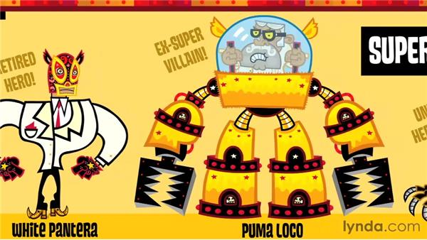 Designing characters: Creative Inspirations: Mexopolis, Animation Studio
