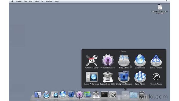 Brief tour of the installed tools: Mac OS X Server 10.6 Snow Leopard Essential Training