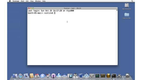 Remotely connecting to a server prior to setup: Mac OS X Server 10.6 Snow Leopard Essential Training