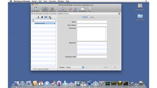 Workgroup Manager overview: Mac OS X Server 10.6 Snow Leopard Essential Training