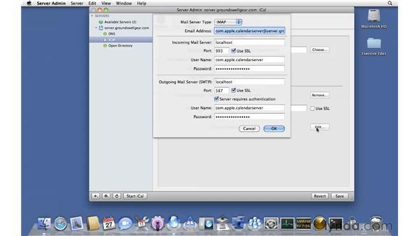 Configuring iCal Server: Mac OS X Server 10.6 Snow Leopard Essential Training