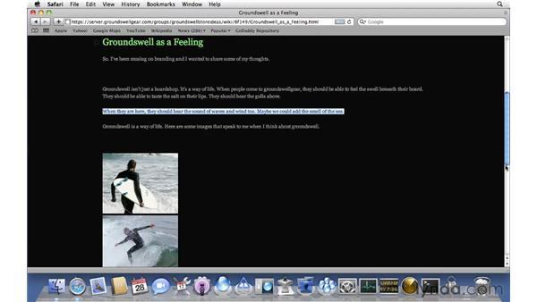 Using MyPage: Mac OS X Server 10.6 Snow Leopard Essential Training