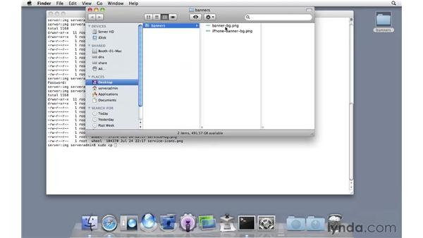 Creating custom wiki themes: Mac OS X Server 10.6 Snow Leopard Essential Training